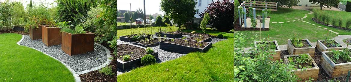 Cultiver tom pousse paysage for Organiser son jardin potager
