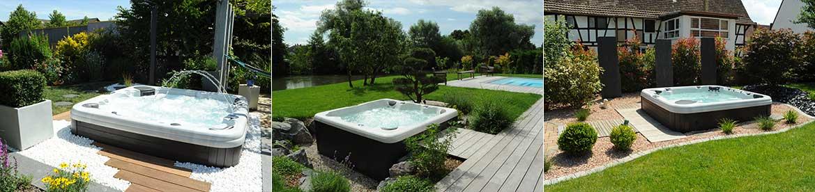 Si La Zone Bien être De Votre Jardin Peut Comporter Un Aménagement Spa,  Elle Peut Aussi Simplement Consister En Une Douche Extérieure Pour Se  Prélasser Et ...